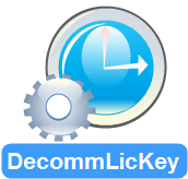 Decomm Lic Key